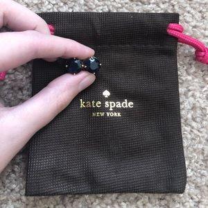Kate Spade ♠️ Navy Gumdrop Earrings